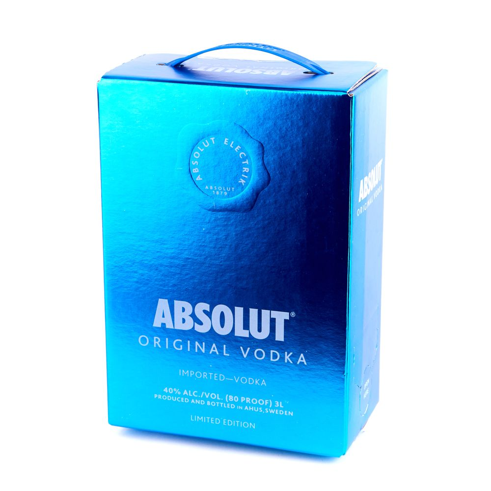 Absolut Original, 3л