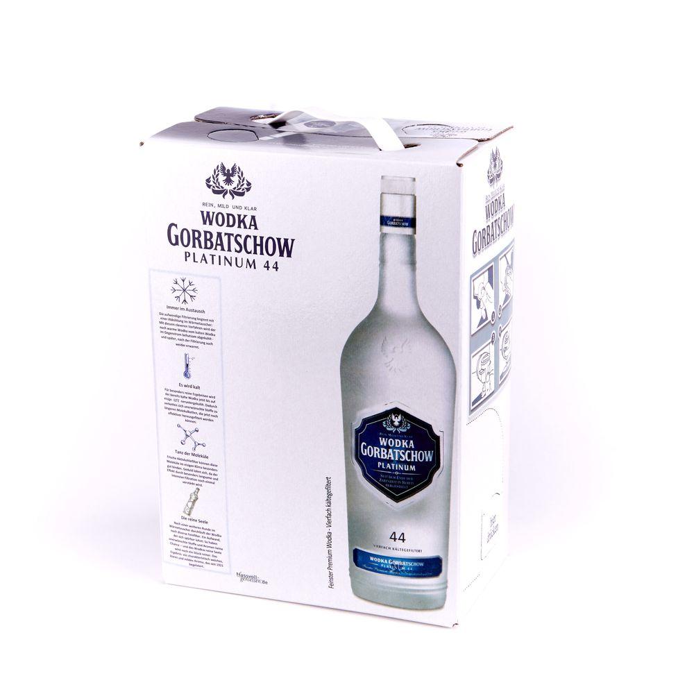 Gorbatschow Platinum 44, 3л