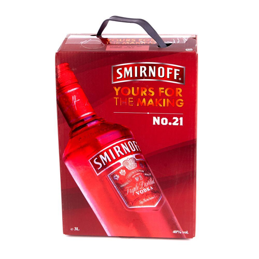 Smirnoff Cranberry, 3л