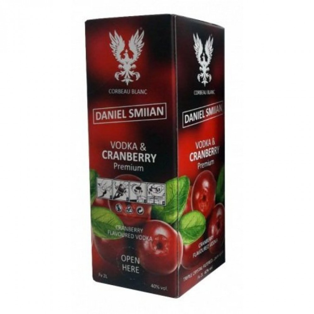 Водка Daniel Smiian Cranberry, 2л
